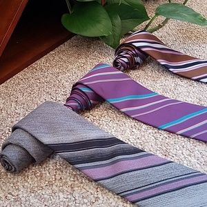 Other - 🤸‍♂️3 For 12🤸‍♀️  Purple Tie Bundle